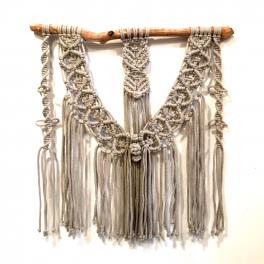 04.02. Makramé - nástěnná dekorace