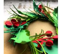 20.11. Vánoční papírové věnečky a dekorace