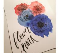 04.02. Květinový lettering
