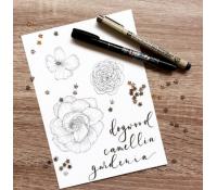 27.10. Květinový lettering